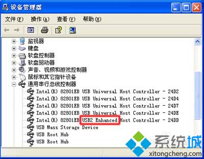 "点击""USB2 Enhanced"""