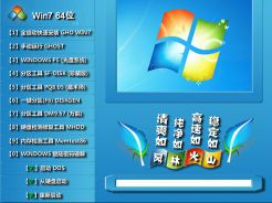 风林火山FLHS GHOST WIN7 SP1 64位装机正式版v2015.01