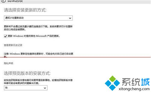 windows update窗口