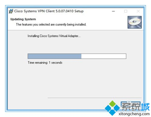 Windows10系统安装cisco VPN client的步骤3